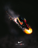nike meteors ad concept by Koston101