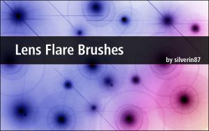 Lens Flare Brushes by silverin87