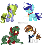 Foal Adopts OPEN!!! by FallenFateAdopts