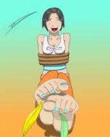 Chell Colored by 12Beast1212