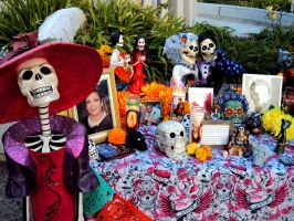 Day of The Dead Altar 3 by Humble-Novice