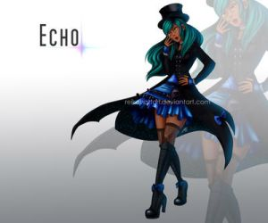Commission - Echo by reikohattori