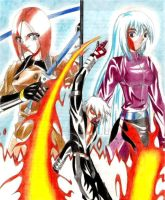 K', whip and kula by spushan