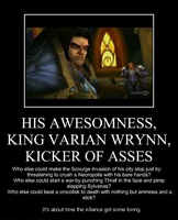 Varian, Kicker of Asses by zafara1222