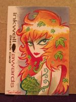Poison Ivy sketch card by Mr-DNA
