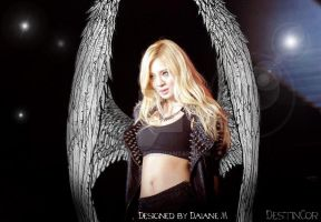 Hyoyeon Angel by Destincor