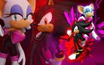 Rouge And Shadow - Wallpaper by SonicTheHedgehogBG
