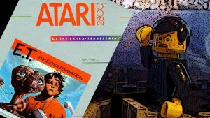 01 Introduction BAD GAMES ET atari 2600 Title Card by Digger318
