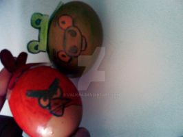Angry Birds (eggs) by Valion4