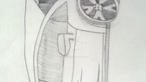 My drawing of a lambo by hamsterlover911