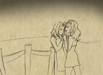 HMAWL: A Kiss By The Fence by DrGaster