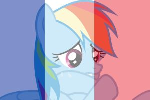 Pray For France Rainbow Dash by Michaelsety