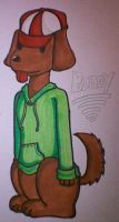 Boney, the Dog-smelling kid by Cappies