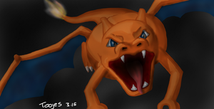 Charizard by toojes