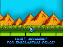 Megaman Wallpaper by linkdragon