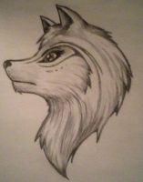 Wolf Face by Her-Shades-of-Dark