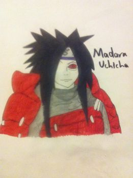 Madara Uchicha by gamerdude10