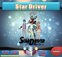 Star Driver V2 ICO & PNG by bryan1213