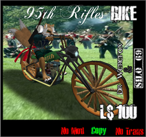 95th Rifles Rider by truemouse