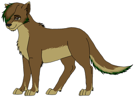 Wolf design for my aunt by Jennidash