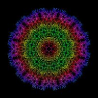 Delic mandala by PsychedelicTreasures