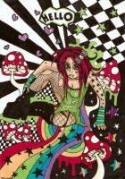 Miss.Psychedelic by corpitin