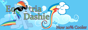 Equestria Dashie by Sylvrgale