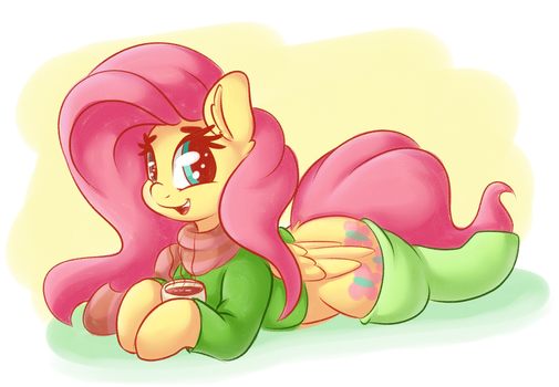 FlutterCute by GrapheneDraws