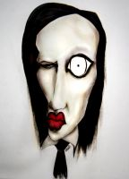 marilyn manson by sizzie88