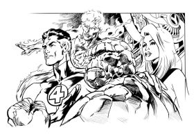 Fantastic Four by JasonConrad