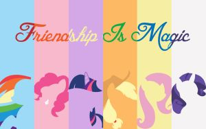 My Little Pony Wallpaper by CWArtist