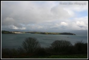 View from Pendennis Castle by DarkestFear