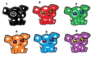 FREE pupies SOLD by PrincessaDramaQueen