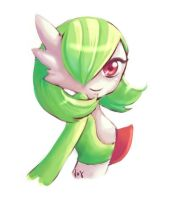 Gardevoir sketch by Vay-demona