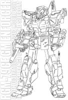 RGM-79CE GM Enforcer by twtmaster