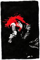 Gerard Way Colour Painting by TheOriginalAlisha