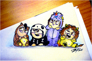 My Chemical Onesies by PandorasBox341