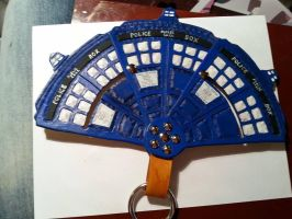 Doctor Who Leather Fan by Oshova750