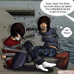 EMO BOYS IN PERIL by bondageincomics