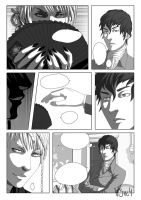 Comic page by V3rc4