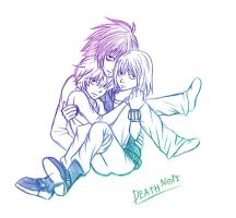 L, Mello and Near. by xOtaruxSushix