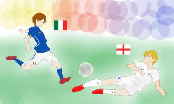 APH: ITALY VS. ENGLAND WORLD CUP 2014. by EatMyTomatoNow