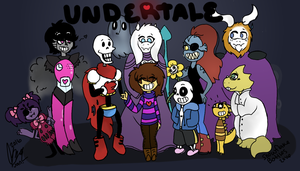 Undertale by Snowflakebottles