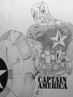 Oh Captain by JenBroomall