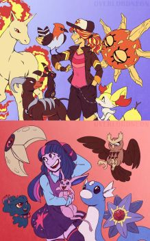 Sun and Moon by OverlordNeon