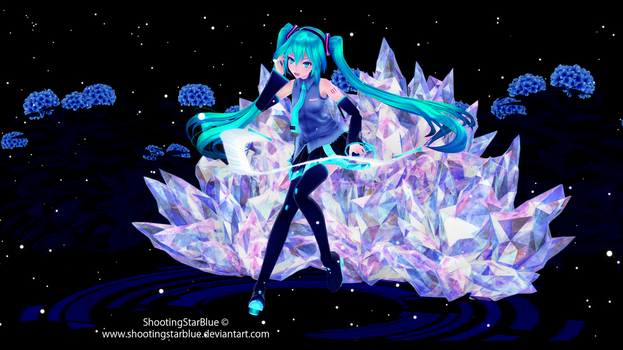 Ten thousand star [HD Black vers] by ShootingStarBlue