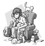 Korektor + cats by Fox-Demon-Kasumi