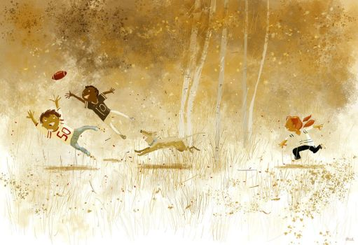 One more throw, one more catch. by PascalCampion