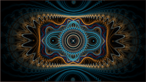 Fractal Wallpaper LXI:Nemo by ScraNo