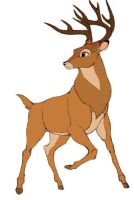 Adult Bambi by Melodys300